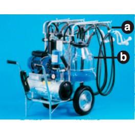 Агрегат мобильный для коз (2 ведра) COMPACT 2/4 N/I SIL