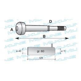 Сосковая резина доильного аппарата для коз STD / силикон